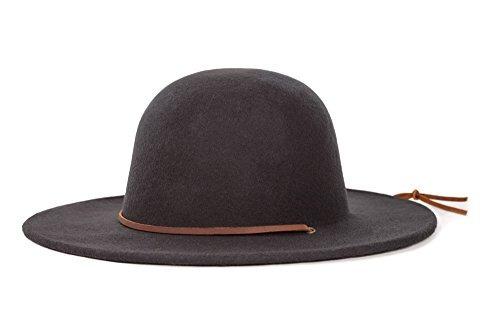 d77a2fd349c6d Sombrero Brixton 100% Lana De Ajuste Cómodo Color Negro -   409.900 en  Mercado Libre