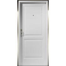 Puerta De Exterior Nexo Chapa Inyectada Blanca 80x200 Deluxe