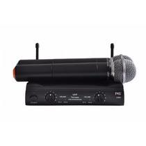 Microfone S Fio Duplo Dinamico Uni-dir Jwl U-585 Como Shure