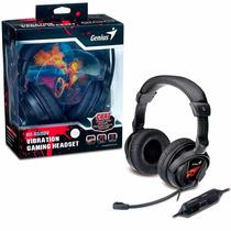 Auriculares Genius Hs-g500v Micrófono Vibración Gamer Pc Mac