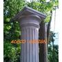 Columna De Cemento Dorica Estriada 2.20 Fabrica