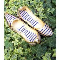Zapatos Chinitas Ballerinas India, Hindúes Bordadas Talla 38