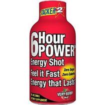 Stacker 2 6 Horas Energy Power Shot - Very Berry Botella De