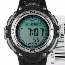 Reloj Casio Twin Sensor Brújula-termómetro Envío Gratis 2 A