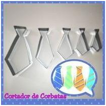 Cortador Reposteria Masa Flexible De Corbatas Para Cupcakes