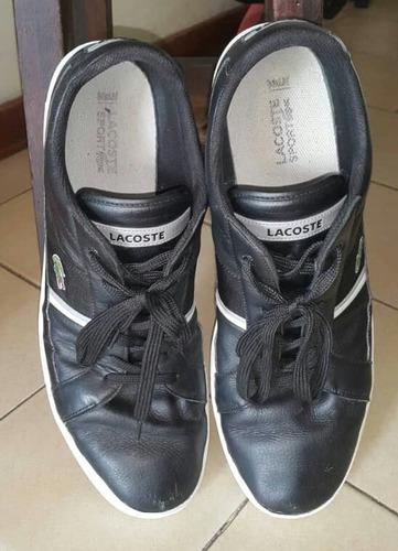 1d83af83bdd49 Zapatos Deportivos Lacoste Originales - Bs. 600,00 en Mercado Libre
