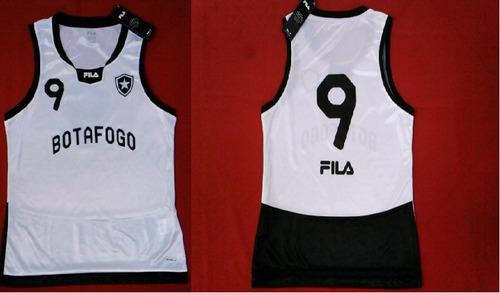 516a9b665df7d camisa botafogo feminina oficial fila volei   basquete nova. Carregando zoom .