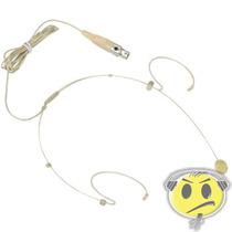 Microfone Cabeça Headset Karsect Ht3c Mini Xlr Kadu Som
