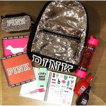 Victoria Secret Pink Mochila Bolso Lentejuelas!! Ultimas!