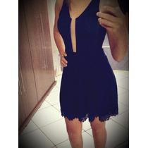 Vestido Feminino Rodado Princesa Vestido Balada Azul Escuro