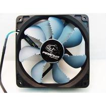 Cooler Fan Ventoinha Akasa Piranha 12cm 12v Gabinete Gamer