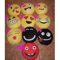 ** Divertidos Cojines Emoji , $60 Mayoreo Sm