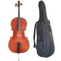 Violoncelo Guarneri Dc11 Standard Dark Ambar Cello 4/4