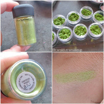Frações De 0,5g Do Pigmento Chartreuse Bouquet Limitado Mac