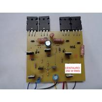 Placa De Amplificador 250 W Rms Fabricação Caseiro
