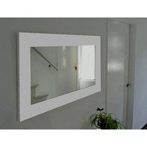 Espejo Marco Madera Tamaño 1,40 X 0,70 M (10cm Marco)