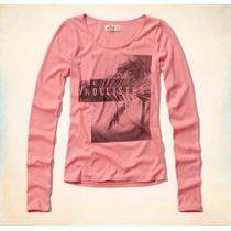 Camisa Feminina Hollister Original Nova
