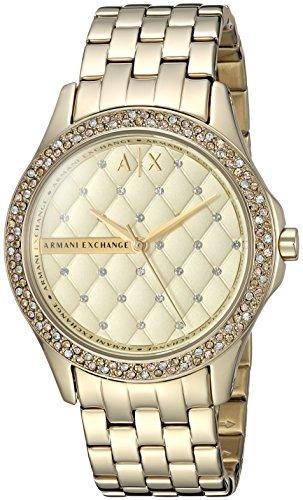 14ad051ceb6c Reloj Armani Exchange Para Mujer Ax5216 Gold -   705.990 en Mercado ...