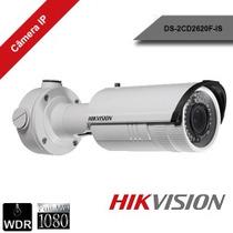 Ds-2cd2620f- Câmera Ip Bullet Hikvision 2.0 Varif.2.8 A12mm