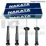 4 Amortecedores Nakata Nissan Frontier 4x4 2002/2007