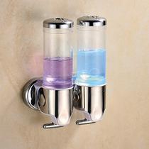 Esatto ® - Despachador De Jabón Líquido Doble Transp Di-007