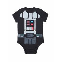 Body Darth Vader Star Wars Fantasia Bebê Cosplay