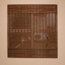 Persiana Bambu Roman Shade Cortina Bandô 120 X 160 Cm Moka