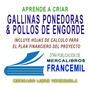 CORRIDA GALLINAS DOBLE PROPOSITO (CARNE Y HUEVO)