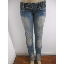 Calça Jeans Osmoze Tam 38 Detalhe Tipo Customizado Ótima