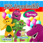 Kit Imprimible Barney Candy Bar Fiesta Mar Peru