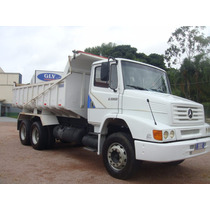 Mb 1620 Truck Vendo No Chassi Ou Só A Caçamba 10m³