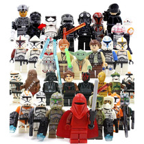 Super Set Sw5 Star Wars 30 Figuras Compatible Con Lego