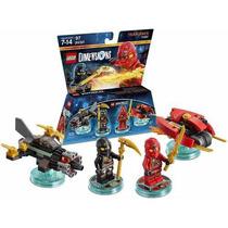 Lego Dimensions Team Pk Ninjago Armable Nuevo En Caja