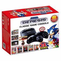 Sega Genesis Classico Game 2016 C/ 80 Jogos