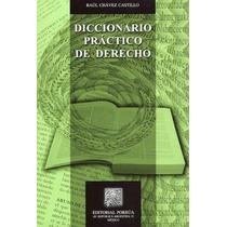 Libro Diccionario Practico De Derecho Ed Porrúa