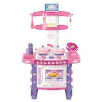 Disney Juego De Cocina Princesas Disney Playset, Color Rosa