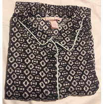 Pijama Bata De Satin Victoria