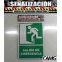 Aviso Salida De Emergencia - Primeros Auxilios Crvd