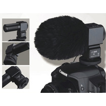 Microfone Direcional Takstar Sgc-698 Câmera Dslr Canon Nikon
