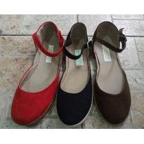 Zapatos Bajitos De Paseo Para Dama ,zapatillas Fabricantes