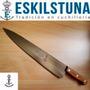 Cuchillo Eskilstuna 364 Hoja 30cm Acero Al Carbono, Madera.
