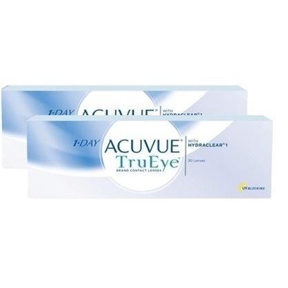 58253e8c8ef3a 2 Caixas Lentes De Contato 1-day Acuvue Tru Eye Melhor Preço - R ...