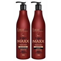 Escova Progressiva Ingel Maxx Forever Liss Kit 2x1000ml