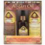 Kit Argan Oil Shampoo, Tratamiento 12 En 1 Y Acondicionador