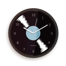 Kikkerland Reloj De Pared 8 Pulgadas Diseño Record
