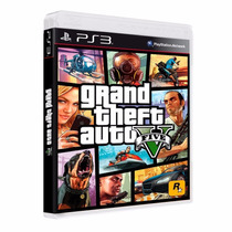 Gta 5 - Grand Theft Auto V Ps3 Mídia Blu-ray Original Remast