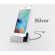Cargador Base Escritorio Sync Iphone 6 6s- 6 6 -5, 5s Ipod