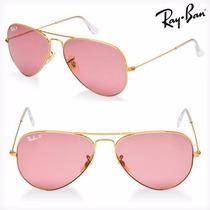 Anteojos Gafas Ray Ban Rb 3025 Aviator Rosa
