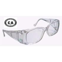 Armação Oculos Segurança P/ Lentes De Grau - Epi