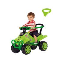 Quadriciclo Calesita Para Passear Com Bebe Cross Verde